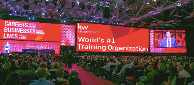 FAMILY REUNION KELLER WILLIAMS EM ORLANDO - EUA