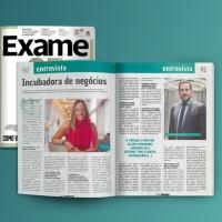 ENTREVISTA REVISTA EXAME: INCUBADORA DE NEGÓCIOS